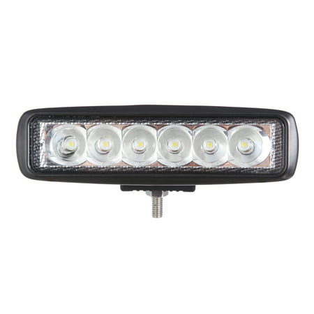 Auto Drive 6 Inch LED Spot Mini Bar Light With Bracket