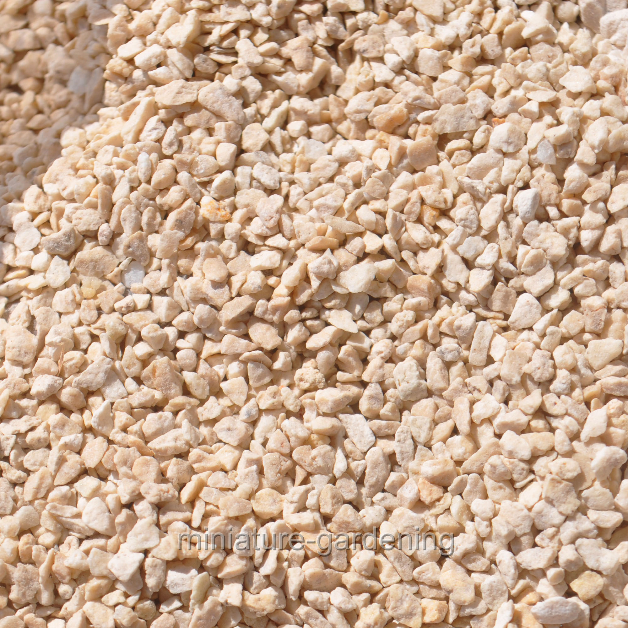 "Miami Beach Pebbles, Inc Zen Gravel 1/16"" - 1 lb, Color Choices for Miniature Garden, Fairy Garden"