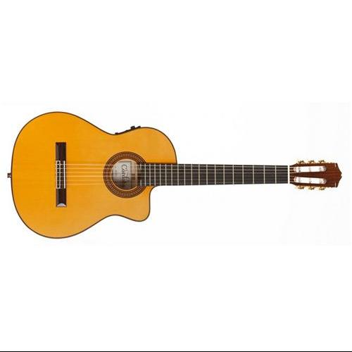 Cordoba 55FCE Flamenco Nylon String Classical Acoustic-Electric Guitar by