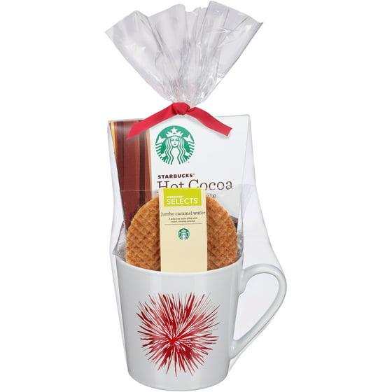 Starbucks holiday single mug gift set pc walmart