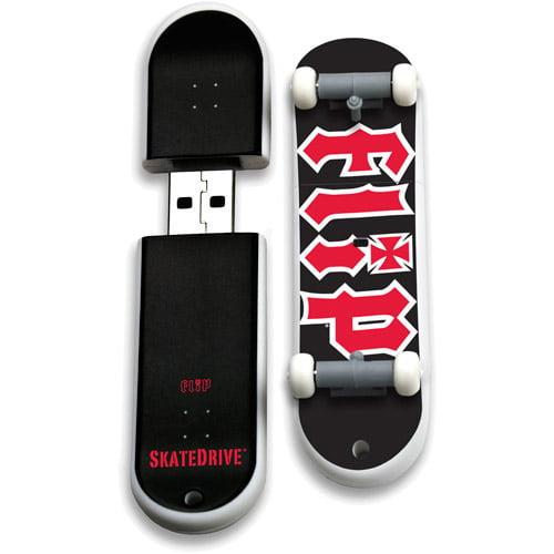 Image of Action Sport Drives 8GB Flip USB Skate Drive, Logo