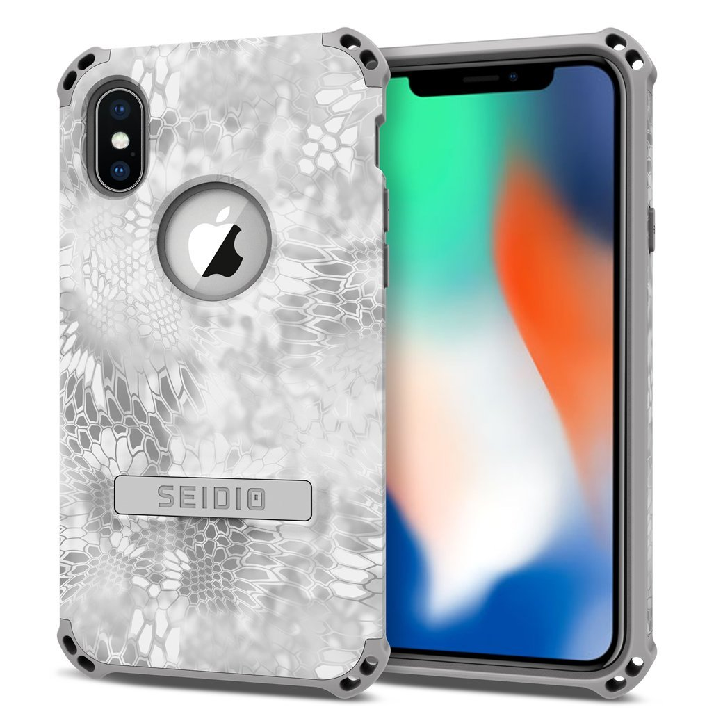 Seidio DILEX Kryptek Case for Apple iPhone X - Yeti