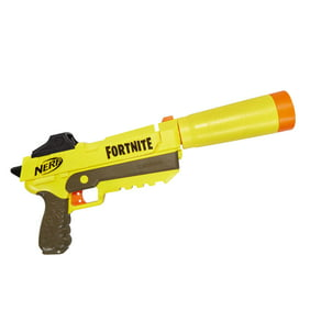 Fortnite SP-L Nerf Elite Dart Blaster, Includes Detachable Barrel and 6 Darts