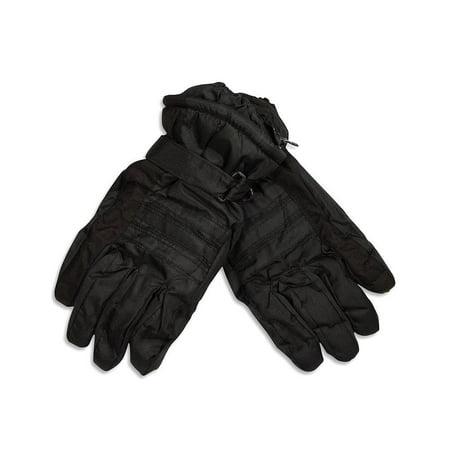 Winter Warm-Up - Mens Ski Gloves Black / X-Large - Light Up Gloves Rave