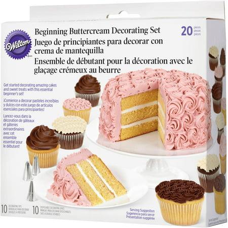 Decorating Cake Pops With Buttercream : Wilton Beginnger Buttercream Cake Decorating Set, 20 pc. 2104-1367 - Walmart.com