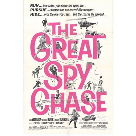 Posterazzi MOVIH5263 Great Spy Chase Movie Poster - 27 x 40 in. - image 1 of 1