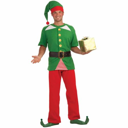 Jolly Elf Adult Halloween Costume - Top 10 Halloween Costumes For Adults 2017