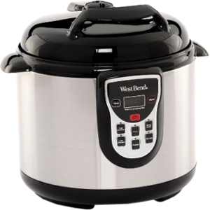 West Bend Electronic 6-Qt Pressure Cooker