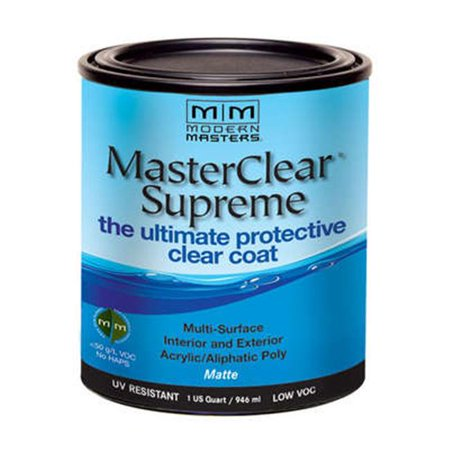 MODERN MASTERS MCS90132 1 Qt Matte Masterclear Supreme Protective Clea