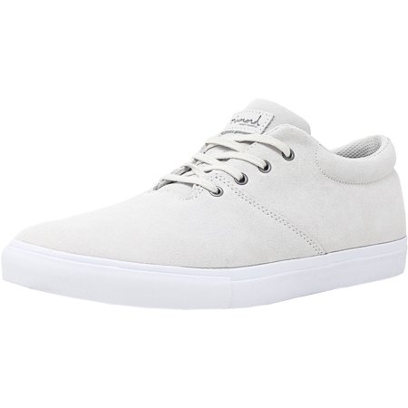 Men's Torey White Ankle-High Leather Skateboarding Shoe - 10M ()
