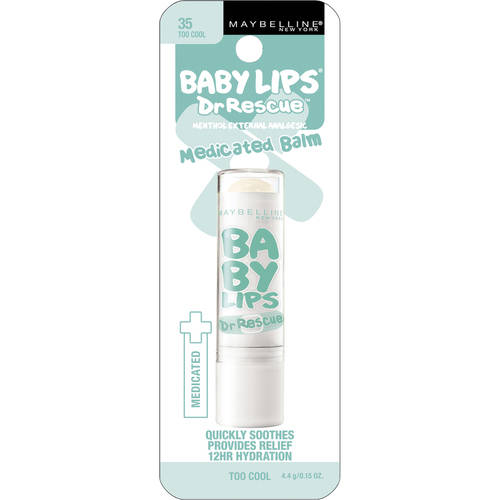 Maybelline Baby Lips Dr Rescue Medicated Lip Balm