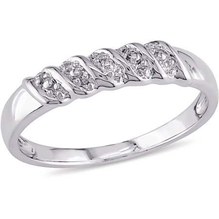 - Sterling Silver Braided Design Wedding Band