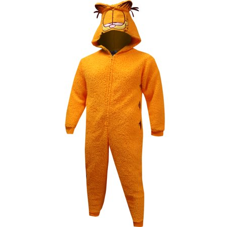 Garfield Women's and Women's Plus Sherpa Union Suit - Next Womens Onesie