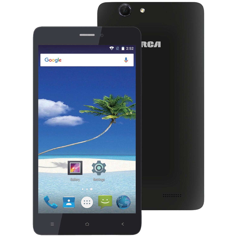 "Rca Rltp6067-black 6"" 4g Lte Android Quad-core Smartphone (black)"