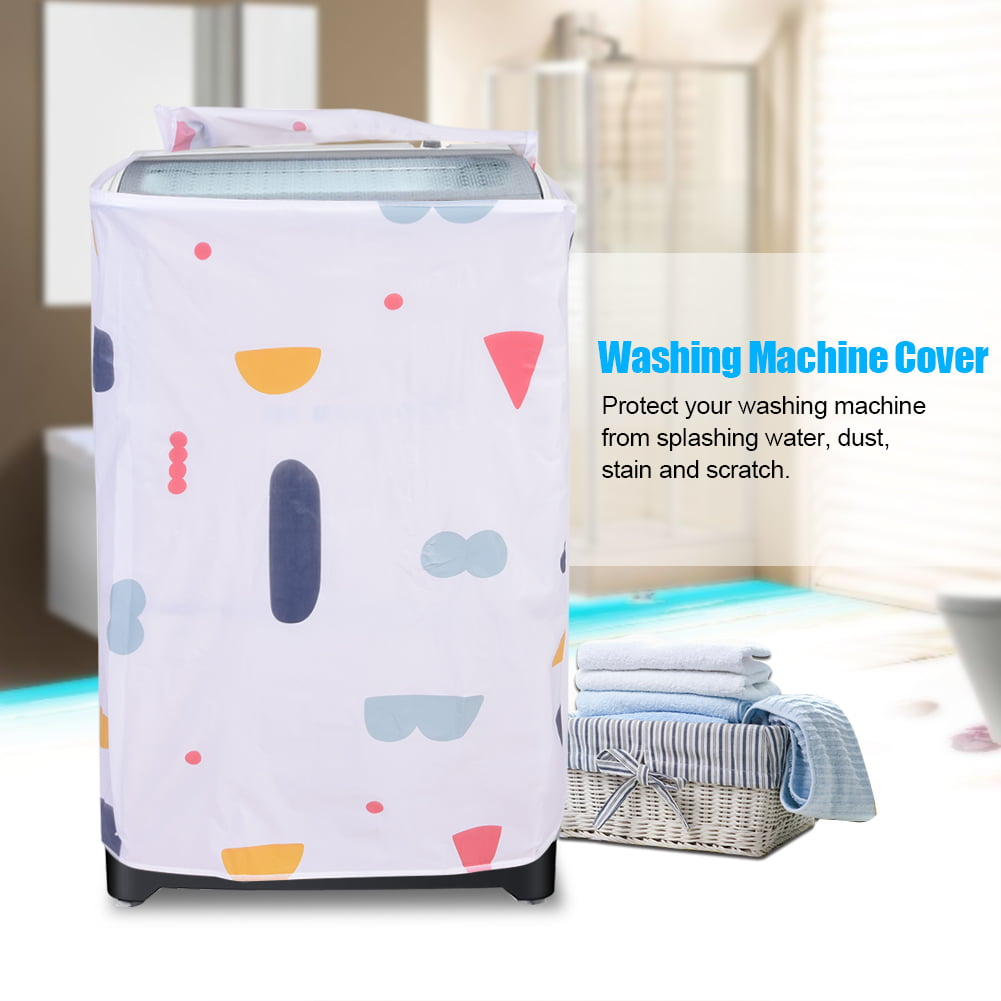 Hilitand Waterproof Washing Machine Zipped Cover Dust