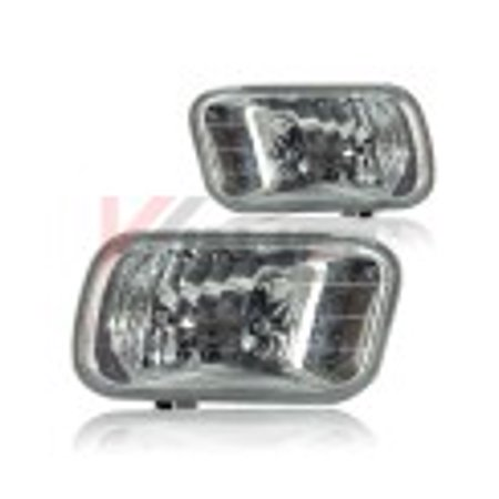 2010 20111 2012 2013 2014 2015 2016 2017 Dodge Ram 2500 3500 Clear Fog Lights Replacement PAIR