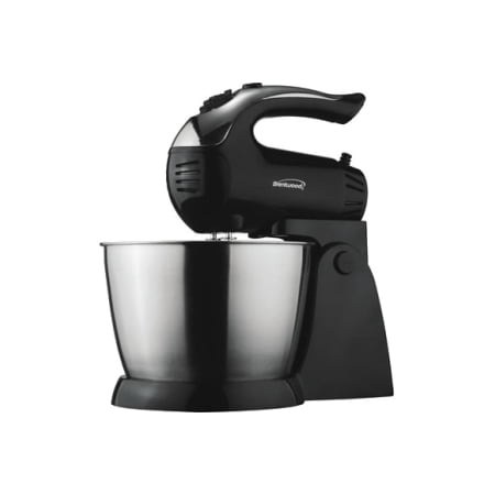 Brentwood Appliances SM-1153 5-Speed Stand Mixer with Stainless Steel (Holds 10 Mixer)