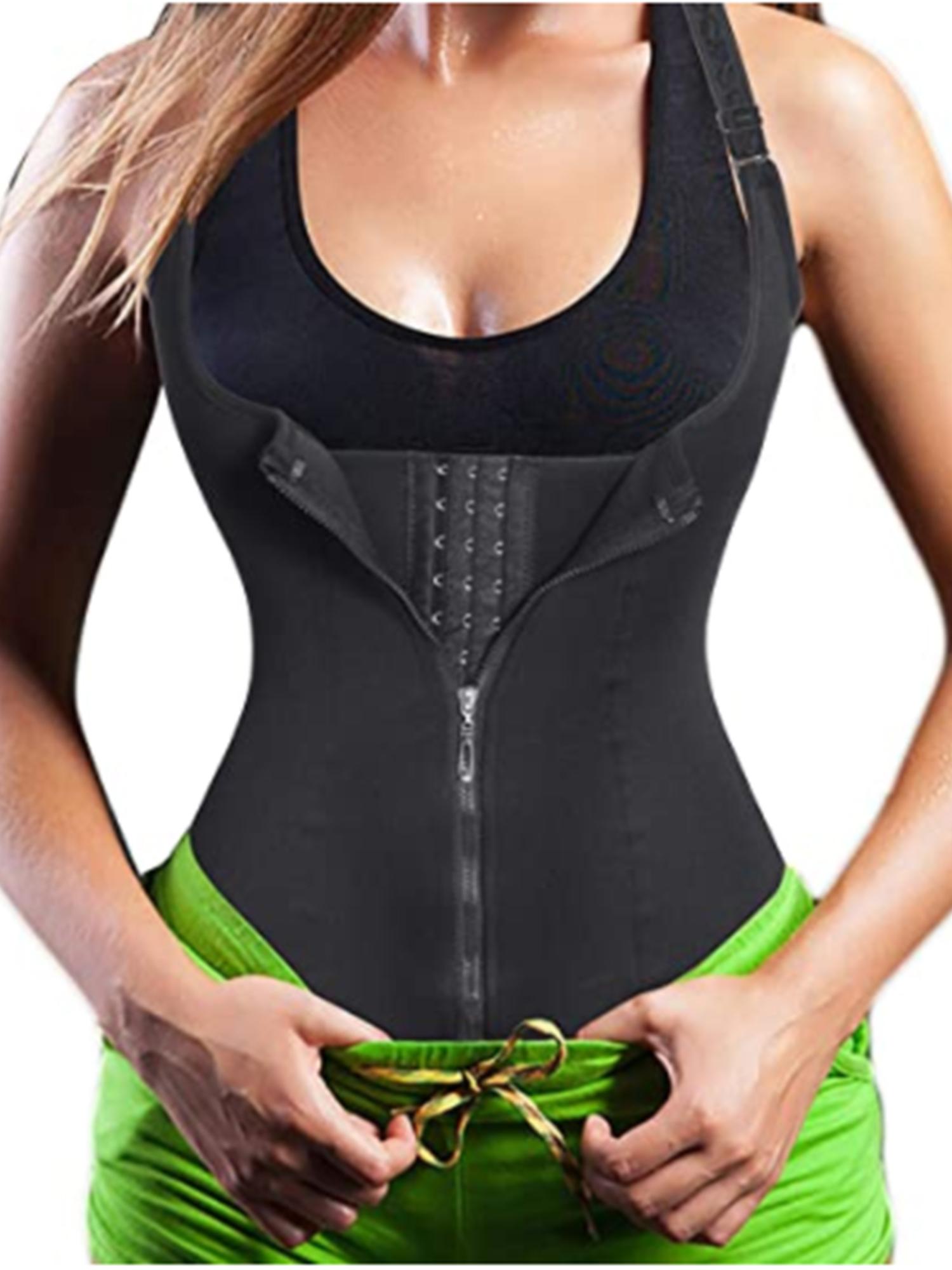 Waist Trainer Cincher Body Shaper Sweat Tummy Control Underbust Corset Vest Belt