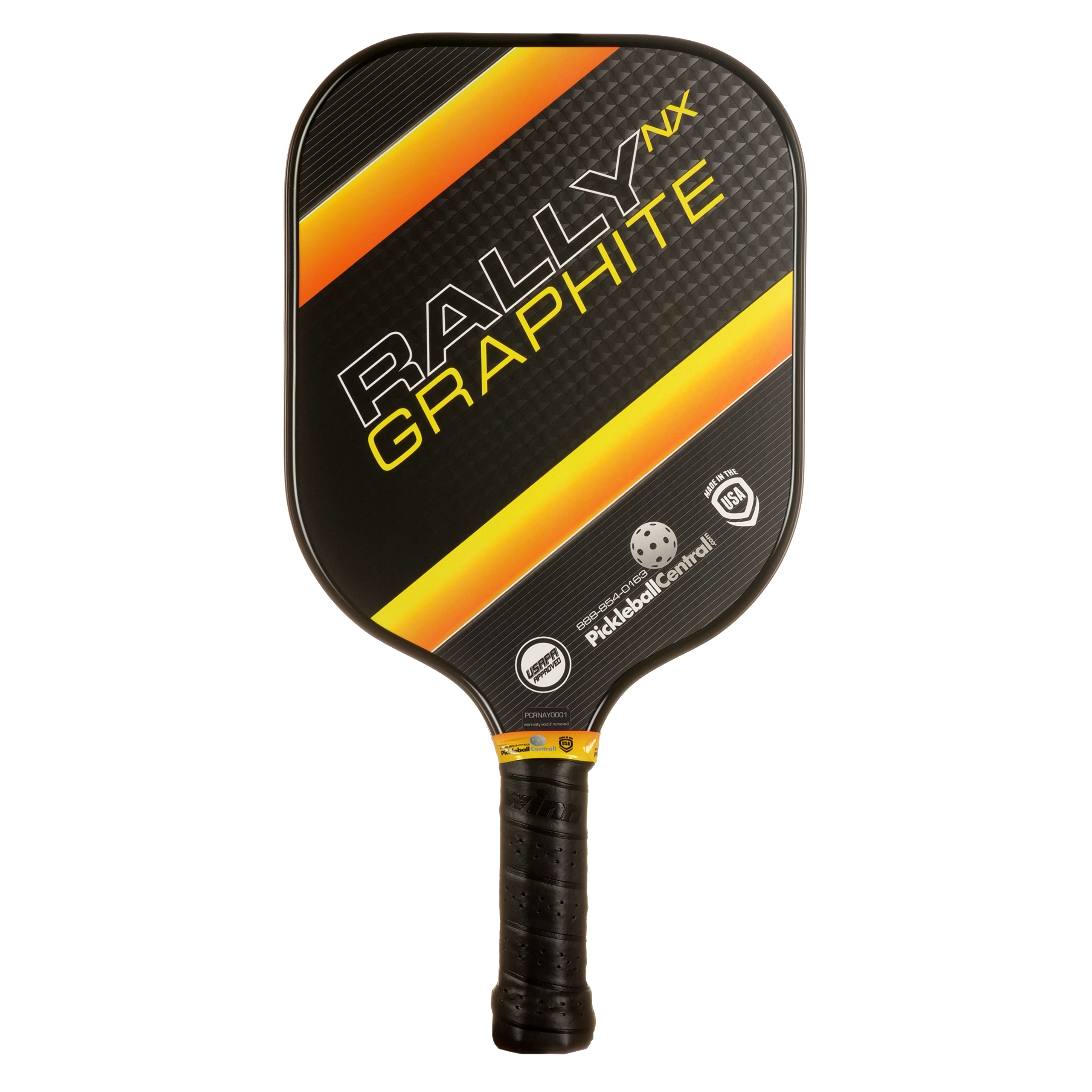 Rally NX Graphite Pickleball Paddle- Yellow