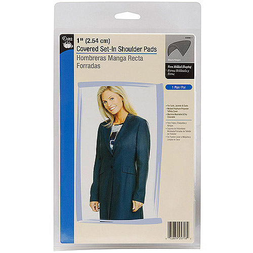 Dritz Covered Set-In Shoulder Pads