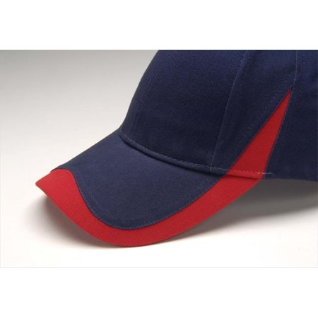 Image of Adams Wave Cap - Navy/Red - One Size