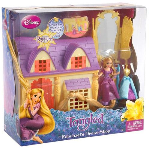 Disney Princess Tangled Rapunzel's Dress Shop Playset for $<!---->