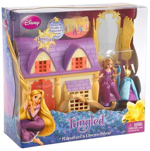 Disney Princess Tangled Rapunzel's Dress Shop Playset