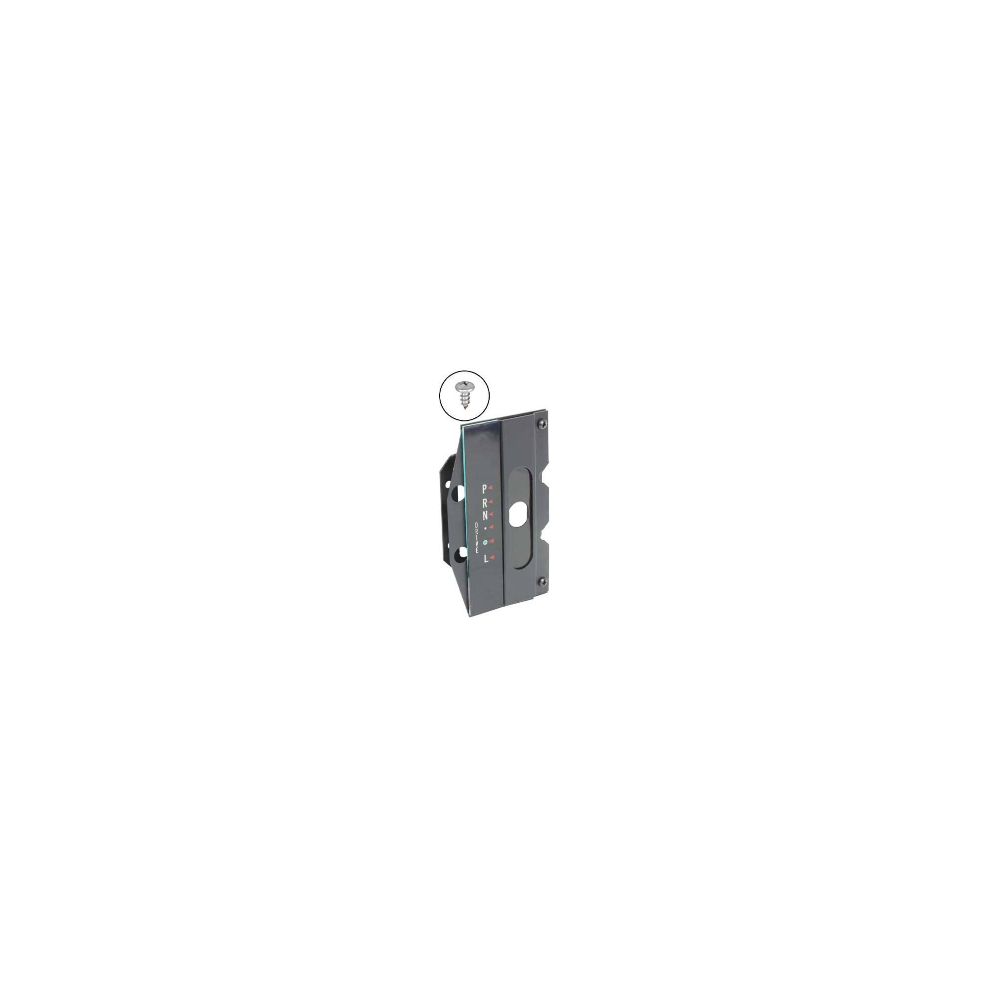 MACs Auto Parts 44-38986 Mustang Automatic Transmission Console Shift Selector Dial and Slide