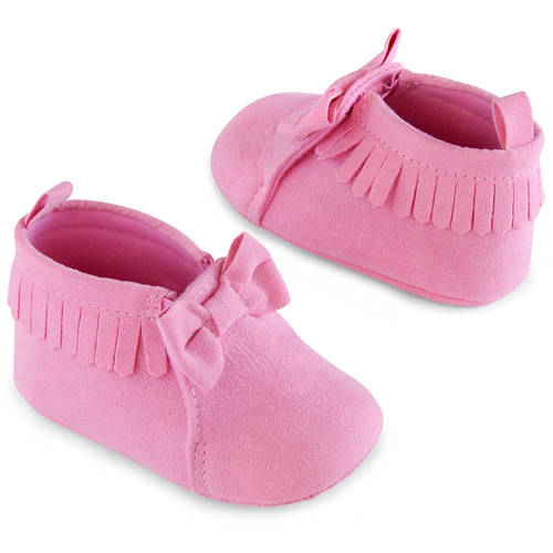 Image of Child of Mine by Carter's Newborn Baby Girl Moccasins, 0-6M