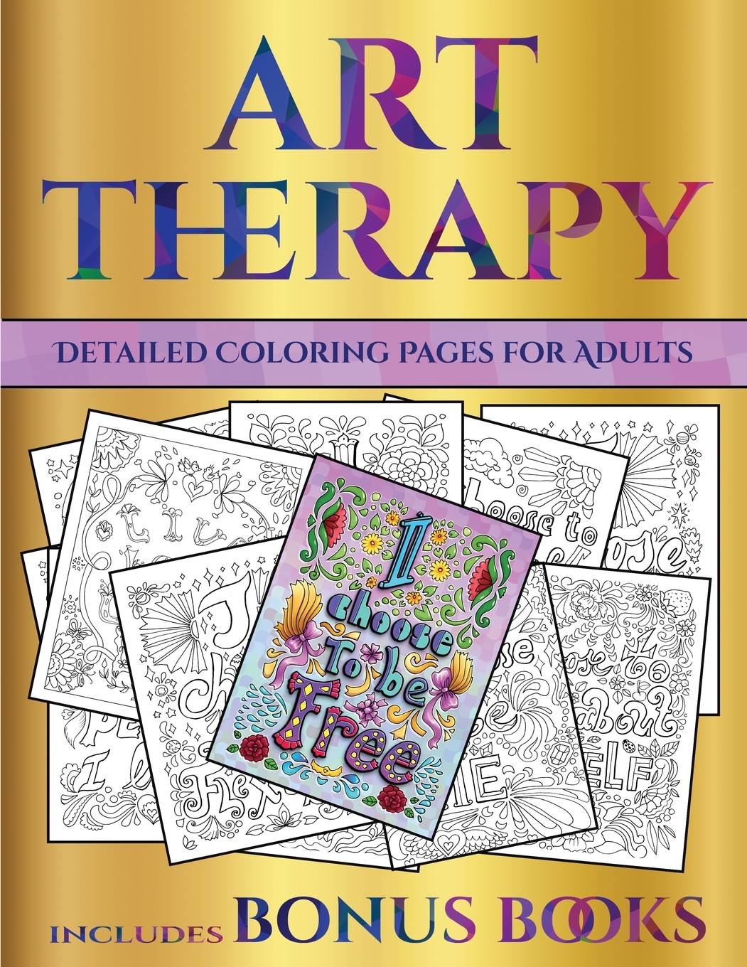 Marvelous Therapeutic Coloring Pages For Adults – Slavyanka | 1360x1051