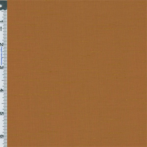 Cinnamon Iridescent Shantung Drapery Fabric, Fabric By the Yard