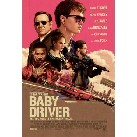 (11x17) Mini Poster Baby Driver Movie Poster