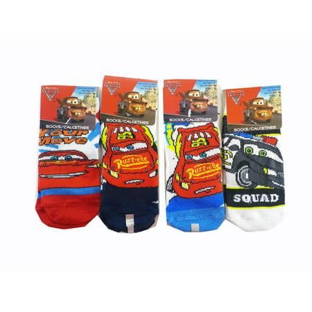 s Cars Socks Kids Novelty Socks ( 3 Pair ) Size 46