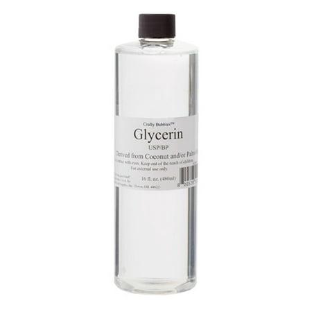Crafty Bubbles Liquid Glycerin: 16 ounces