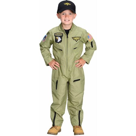 Fighter Pilot Child Halloween Costume](Bomber Pilot Costume)