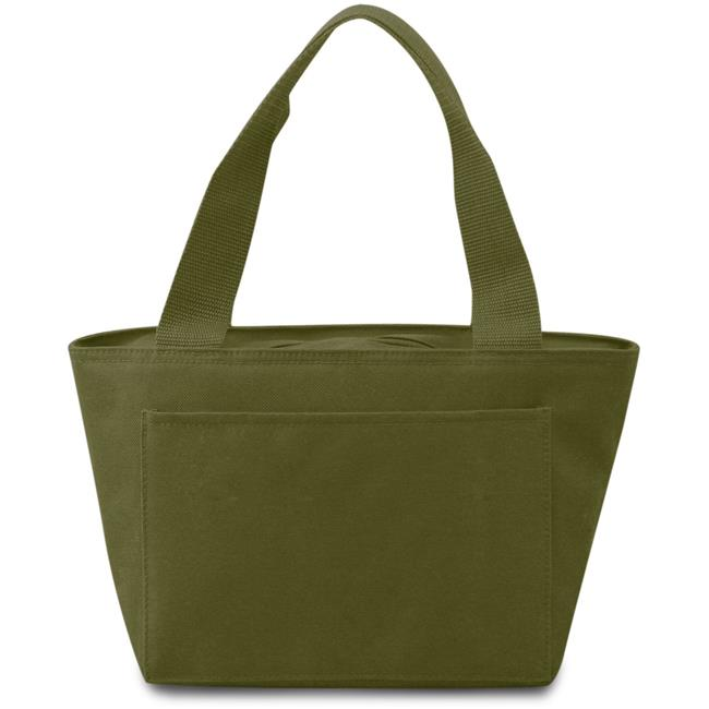 DDI 1917480 Insulated Cooler Tote Lunch Bag, Olive