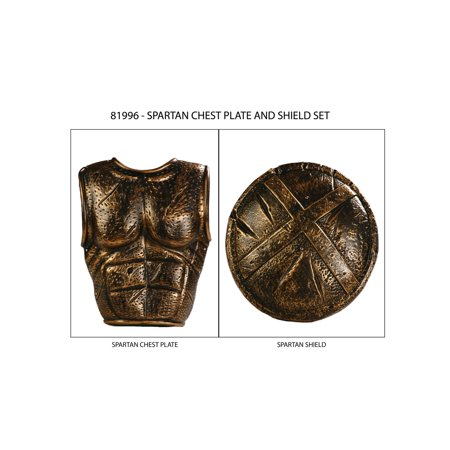 Greek Chestplate and Shield Set - Greek Coustumes