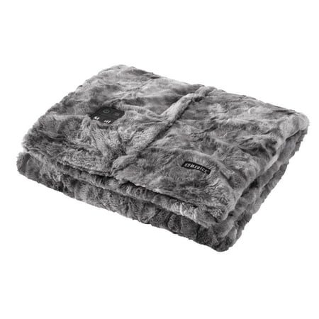 Smoothing Massage (HoMedics Cordless Throw & Cape with Soothing Heat & Vibrating Massage COMFORT MAX DELUXE, HCM-TRW210HSF)