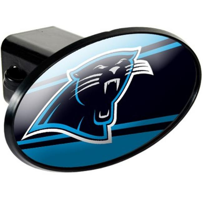 Great American Products 72029 Trailer Hitch Cover- Carolina Panthers