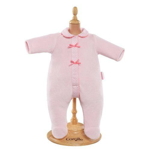 Corolle Mon Bebe Classiques 14 in. Pink Pajamas Doll Ensemble