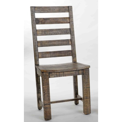 Aishni Home Furnishings Morocco Solid Wood Dining Chair