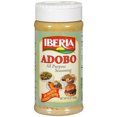 Iberia Adobo All Purpose Seasoning, 16 oz