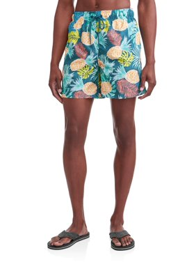 a128ac35eafc0 Product Image George Men's Novelty 6-Inch Swim Short, up to Size 5XL