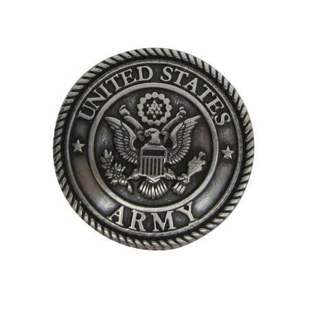 Silver US Army Western Hat Belt Horse Saddle Concho