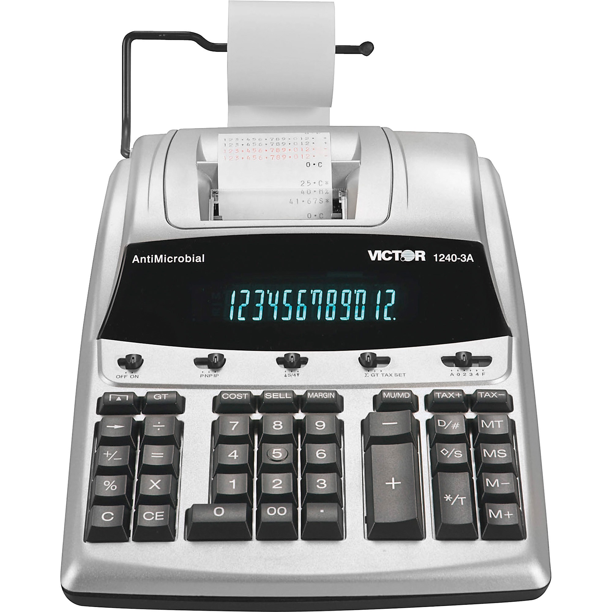 Victor, VCT12403A, 12403A Professional Calculator, 1 Each, White