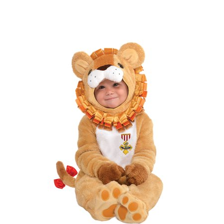 Suit Yourself Cowardly Lion Halloween Costume for Babies, The Wizard of Oz, Includes Accessories - Cowardly Lion Halloween Costume Toddler