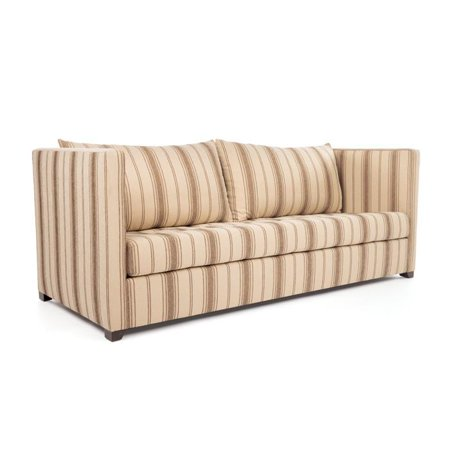 Eclipse Home Collection Venice Sofa Large Cachet Sand Brass Nailheads 96   L  X 40   W  X 37   H