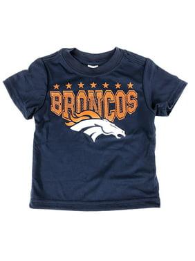 Product Image Gerbers Childrenswear Grey Infant Toddler Denver Broncos Poly  T-Shirt (12 Month). Gerber 18de444bf