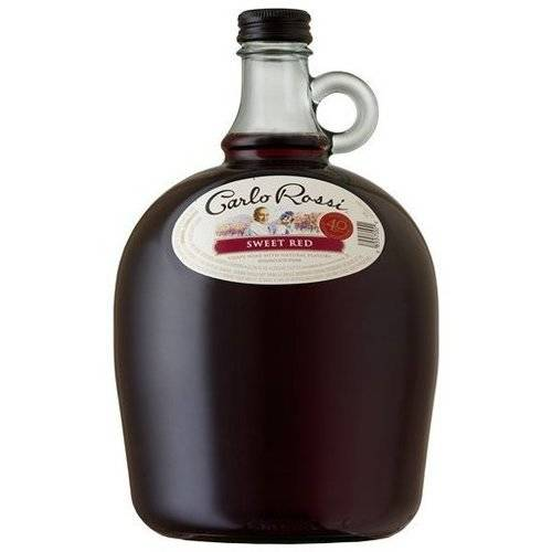 Carlo Rossi Sweet Red Wine, 3 L