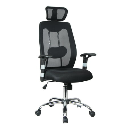 TygerClaw Ergonomic High Back Mesh Office Chair with Headrest - image 1 de 1